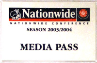 old conference league pass